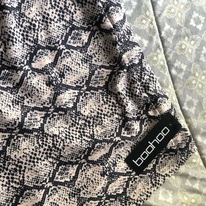 Super comfy snake skin skirt brand new